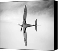 Mkix Canvas Prints - Spitfire. Canvas Print by Ian Merton
