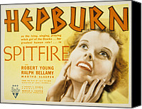 Posth Canvas Prints - Spitfire, Katharine Hepburn, 1934 Canvas Print by Everett