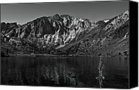 Mountain Scene Canvas Prints - Splash On Convict Lake Canvas Print by Sean Duan