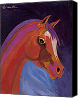 Abstract Equine Canvas Prints - Splendor Canvas Print by Bob Coonts