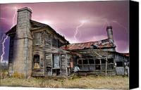 Marty Koch Canvas Prints - Spooky Canvas Print by Marty Koch