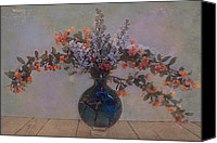 Foilage Canvas Prints - Spring bouquet 4 Canvas Print by Jeff Burgess