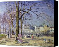 Later Canvas Prints - Spring in Hyde Park Canvas Print by Alice Taite Fanner