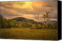White Mountains Canvas Prints - Spring Rain - White Mountains -Maine Canvas Print by Bob Orsillo
