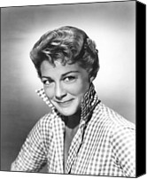 1957 Movies Canvas Prints - Spring Reunion, Betty Hutton, 1957 Canvas Print by Everett