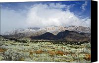 Storm Prints Canvas Prints - Spring Sandia Fog Canvas Print by Andrea Hazel Ihlefeld