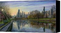 Hancock Canvas Prints - Spring Serenity  Canvas Print by Doug Kreuger