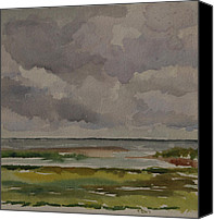 Kiawah Island Canvas Prints - Springtime by the sea Canvas Print by Peggy Ellis