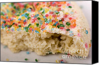 Sharing Canvas Prints - Sprinkled Sugar Cookies 1 Canvas Print by Alan Look