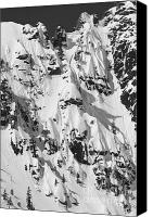 Snowboard Canvas Prints - Squaw Valley Forbidden Fruit Canvas Print by Dustin K Ryan