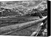 Sierra Canvas Prints - Squaw Valley USA Olympic Valley California Canvas Print by Scott McGuire