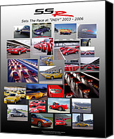 Fanatic Photo Canvas Prints - SSR Sets The Pace 2003-2006 Canvas Print by Howard Kirchenbauer