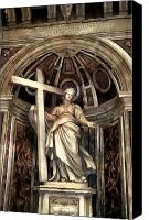 Vatican Digital Art Canvas Prints - St. Helena Canvas Print by Mindy Newman