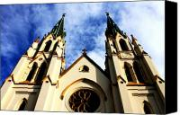Dana Oliver Canvas Prints - St. John the Baptist Cathedral Canvas Print by Dana  Oliver
