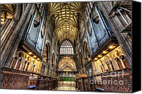 Chapel Canvas Prints - St Mary Canvas Print by Adrian Evans