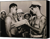 Blacks Canvas Prints - Staff Sergeant Joe Louis, World Canvas Print by Everett