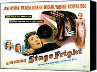 1950 Movies Canvas Prints - Stage Fright, Michael Wilding, Richard Canvas Print by Everett