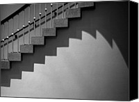 D.c. Canvas Prints - Stairway Shadows Canvas Print by Steven Ainsworth