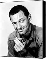 1953 Movies Canvas Prints - Stalag 17, William Holden, 1953 Canvas Print by Everett