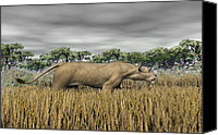 Bigcat Canvas Prints - Stalking Prey Canvas Print by Walter Colvin