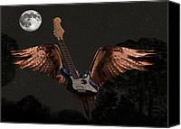 Rock Angels Canvas Prints - Stand  Up Canvas Print by Eric Kempson