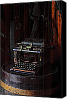 Remington Canvas Prints - Standard Typewriter Canvas Print by Viktor Savchenko