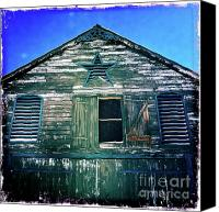 Star Barn Canvas Prints - Star Barn I Canvas Print by Kevyn Bashore