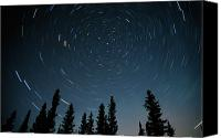 Startrail Canvas Prints - Star Trails, Sandilands Provincial Canvas Print by Mike Grandmailson