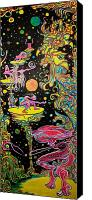 Strange Canvas Prints - Starcollectors Canvas Print by Ben Christianson