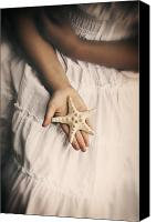 Hands Canvas Prints - Starfish Canvas Print by Joana Kruse