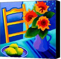 Starry Painting Canvas Prints - Starry Night   I  Canvas Print by John  Nolan