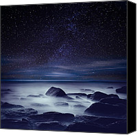 Universe Canvas Prints - Starry night Canvas Print by Jorge Maia