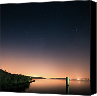 Astronomy Canvas Prints - Stars In Sky Canvas Print by Andreas Levers