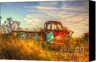Old Trucks Photo Canvas Prints - Starving Artist Canvas Print by Robert Pearson