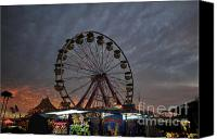 Florida State Canvas Prints - State Fair Canvas Print by David Lee Thompson
