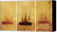Sail Boat Canvas Prints - State of Consciousness Canvas Print by Andrew Paranavitana