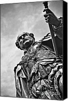 British Royalty Canvas Prints - Statue - Albert the Good Canvas Print by Kaye Menner