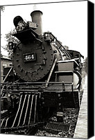 Huckleberry Canvas Prints - Steam Engine 464 Canvas Print by Scott Hovind