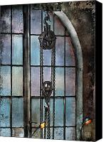 Cyber Canvas Prints - Steampunk - Gear - Importance of Industry  Canvas Print by Mike Savad