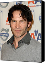 Tea Party Canvas Prints - Stephen Moyer At Arrivals For The 2009 Canvas Print by Everett