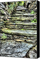 Harpers Ferry Canvas Prints - Stepping Through History Canvas Print by JC Findley