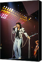 Rich Fuscia Canvas Prints - Steve Perry of Journey Canvas Print by Rich Fuscia