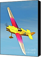Senegal Canvas Prints - Steve Senegal and Formula One Race 96 Miss Demeanor Reno 2010 Canvas Print by Gus McCrea