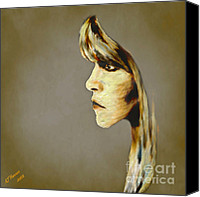 Arne J Hansen Canvas Prints - Stevie Nicks Canvas Print by Arne Hansen