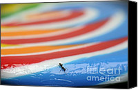 Ant Canvas Prints - Sticky Rings of Saturn Canvas Print by Luke Moore