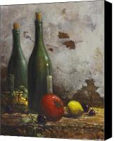 Lemon Painting Canvas Prints - Still Life 3 Canvas Print by Harvie Brown
