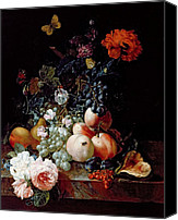 Floral Canvas Prints - Still Life  Canvas Print by Johann Amandus Winck