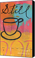 Writing Canvas Prints - Still Canvas Print by Linda Woods