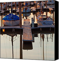 Bathrooms Canvas Prints - Still Sailing Canvas Print by Steven Milner