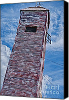 Feed Mill Canvas Prints - Still Standing Canvas Print by Ken Williams